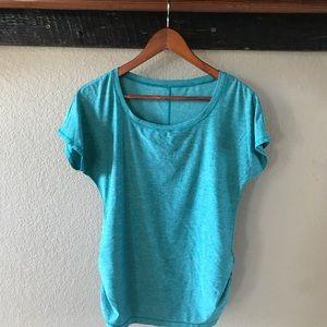 Blue Eddie Bauer Shirtsleeve Shirt